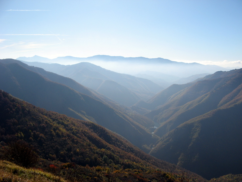 The Aveto valley