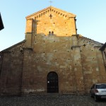 The medieval church of Santa Maria in Castell'Arquato